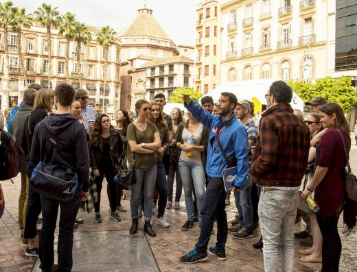 Free Málaga city tour